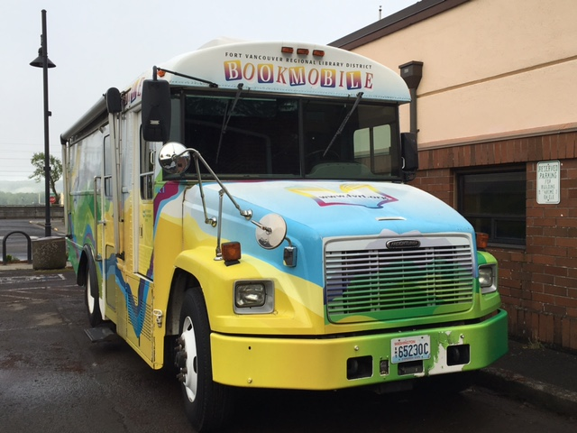 BOOKMOBILE OPENS MAY 4 AT NOON!