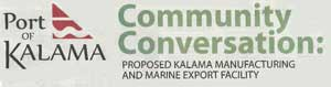 METHANOL PLANT - INFORMATION FROM PORT OF KALAMA