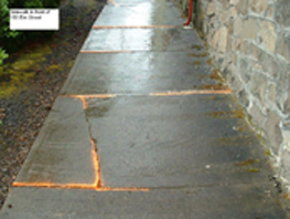 Elm Street Sidewalk Project