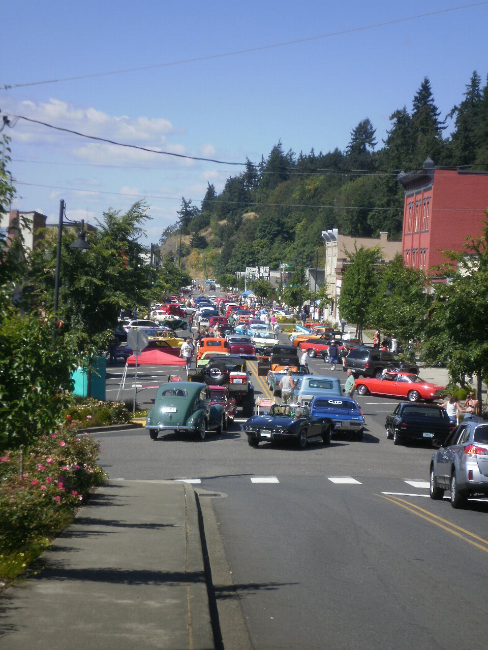 Parade of Car Show Aug 17 2014