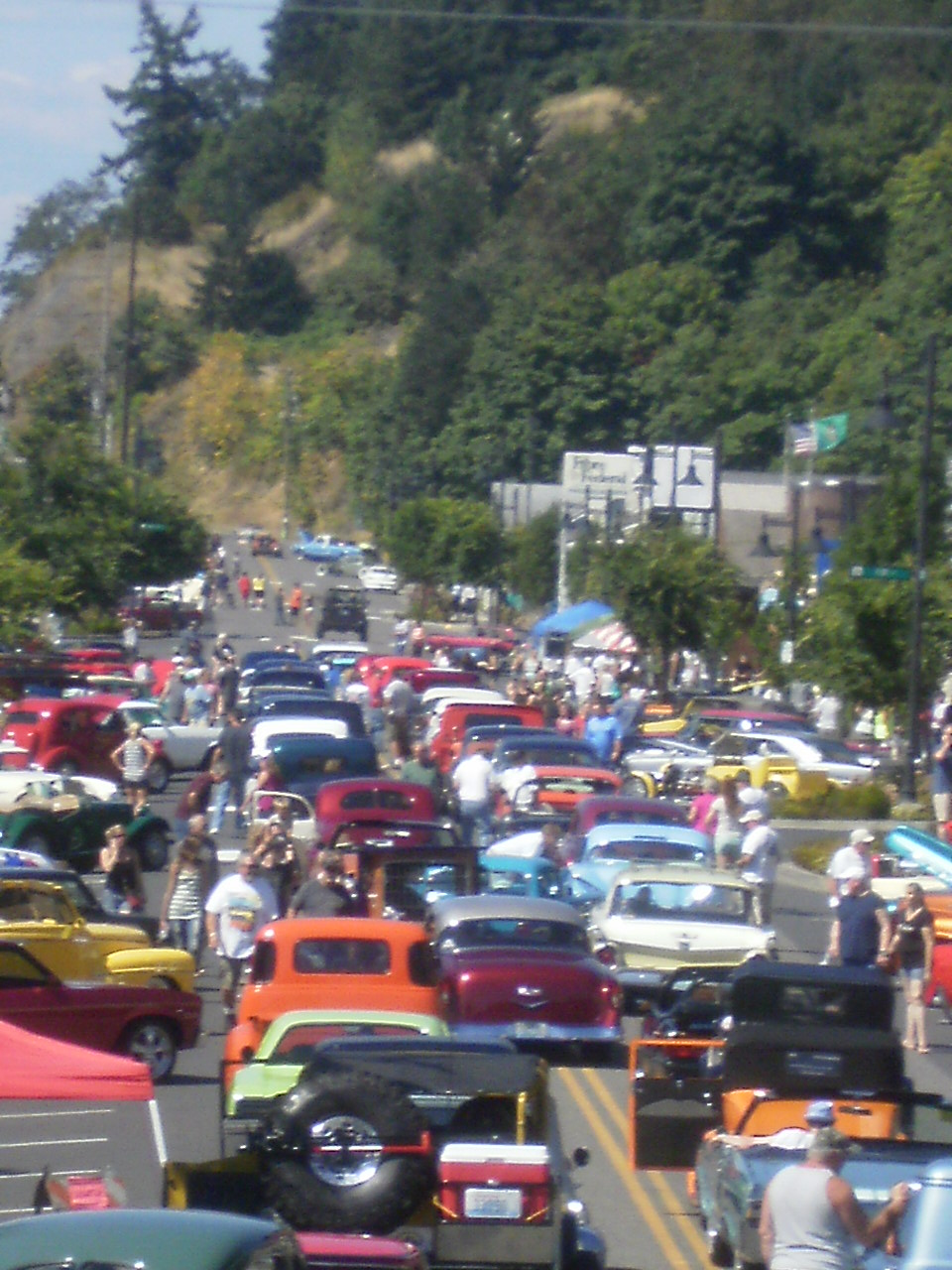 Car Show Parade Aug 17 2014